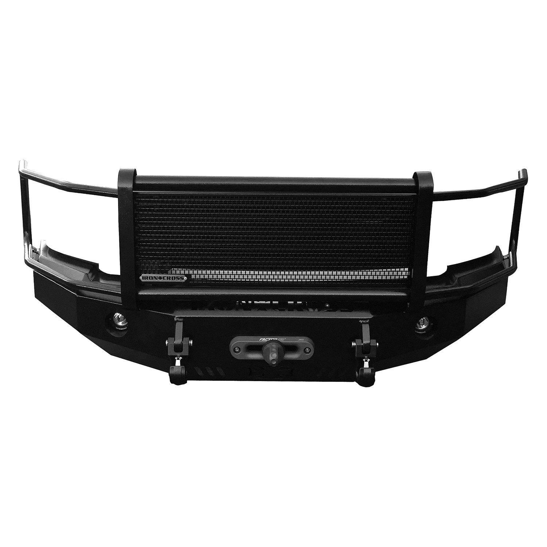 Heavy Duty Front Steel Bumper With Winch Mount Da5645 For: For Ford F-250 99-04 Bumper Heavy Duty Series Full Width