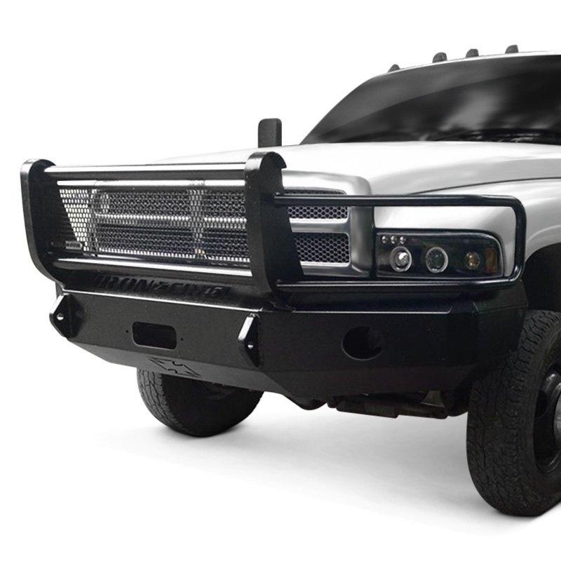Brush Guard Ram 1500 >> Iron Cross® - Dodge Ram 1500 / 2500 / 3500 1997 Heavy Duty Series Full Width Front Winch HD ...