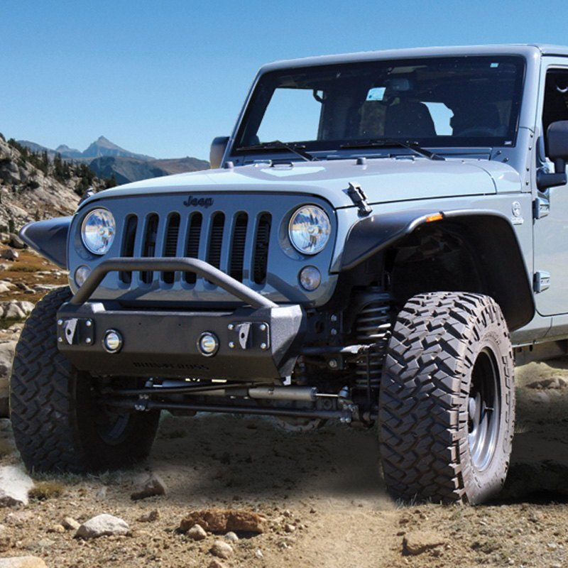 Jeep Wrangler 2008 Stubby Front HD Bumper