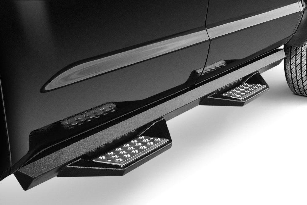 Iron Cross® 716-9980 - HD Series Cab Length Black Side Steps