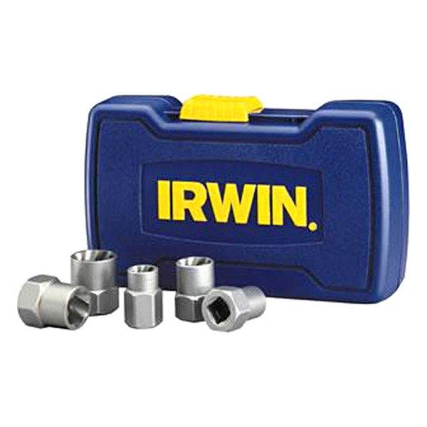Irwin 394001 5 piece bolt grip bolt extractor base set for Irwin motors body shop