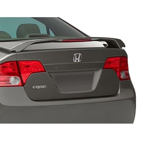 Painted 2004 2008 For Acura Tl Trunk Lip Spoiler Satin: Honda Civic Sedan 2008 Eagle Wings™ Factory Style