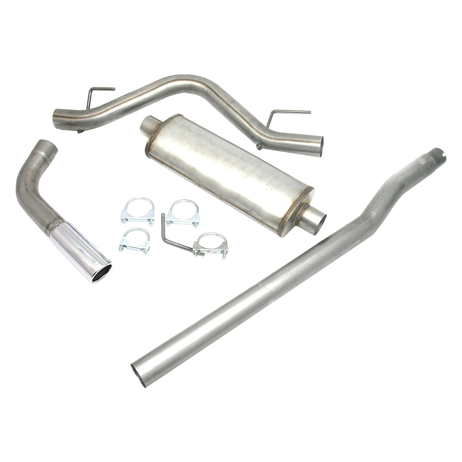 Jba ford f l stainless steel exhaust system