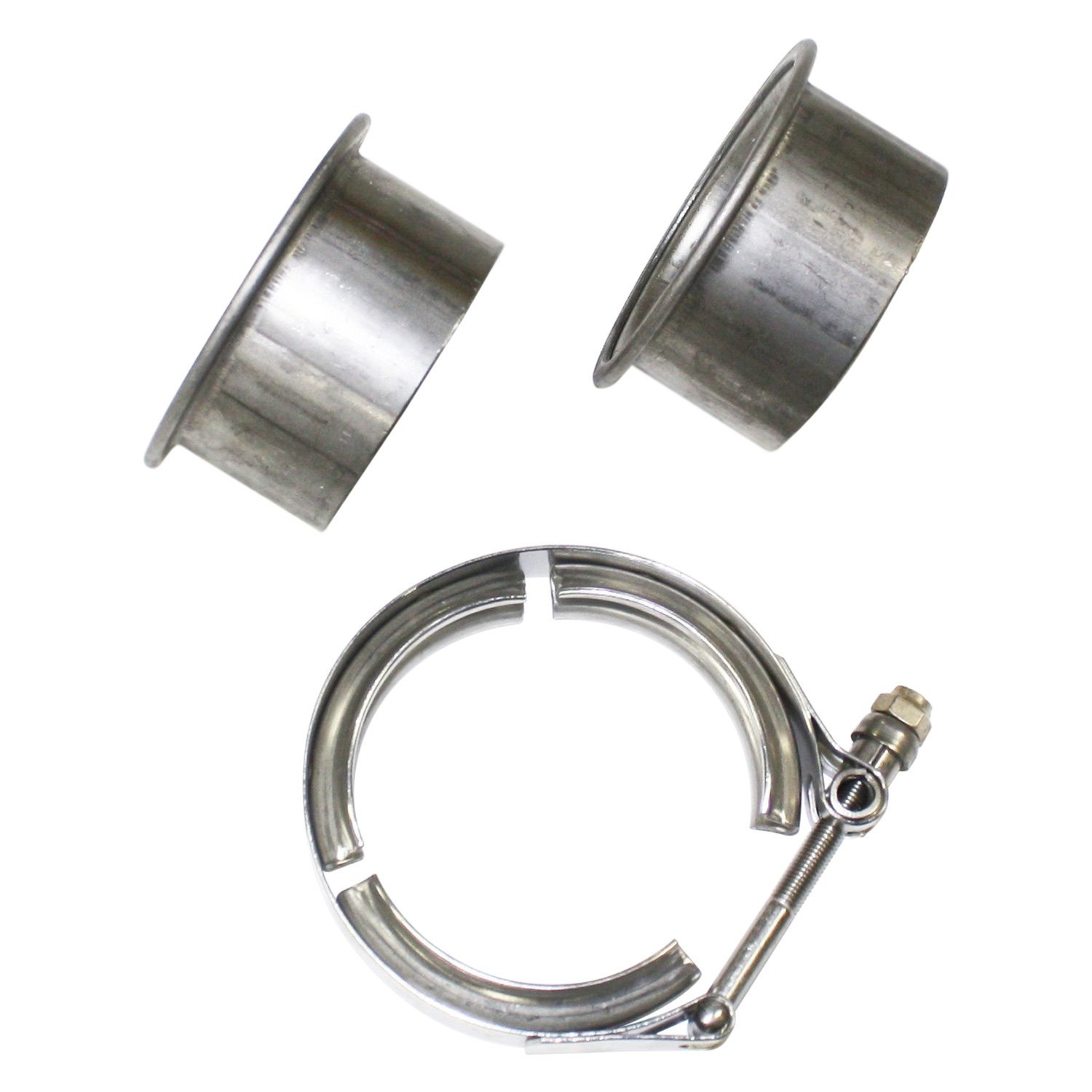 JBA® - Stainless Steel V-Band Clamp with Flanges