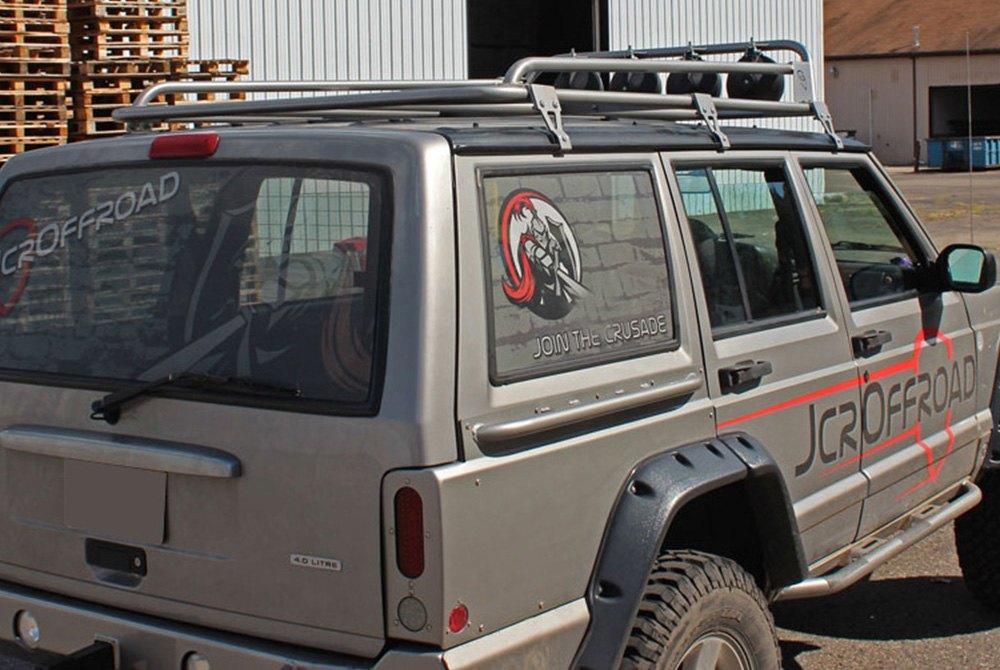 jcroffroad jeep cherokee 2000 prerunner roof rack. Black Bedroom Furniture Sets. Home Design Ideas