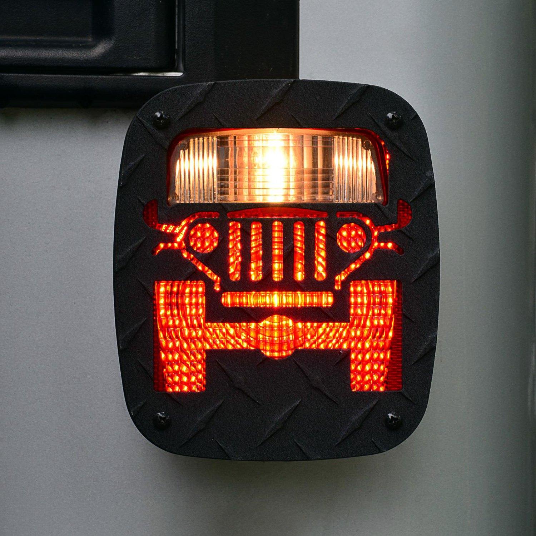 Jeep Tweaks 174 Jeep Wrangler 2004 2006 Tail Light Guards