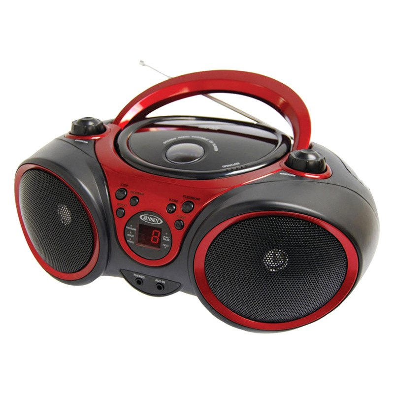 jensen cd 490 portable stereo cd player with am fm stereo radio. Black Bedroom Furniture Sets. Home Design Ideas