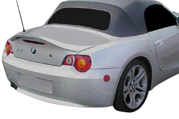FOR BMW Z4 CONVERTIBLE UN-PAINTED-GREY Factory Style Rear Spoiler Wing 2003-2008
