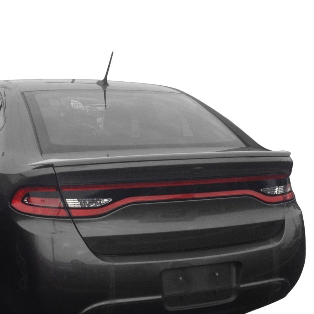 jks dodge dart 2015 flush mount factory style rear spoiler. Black Bedroom Furniture Sets. Home Design Ideas