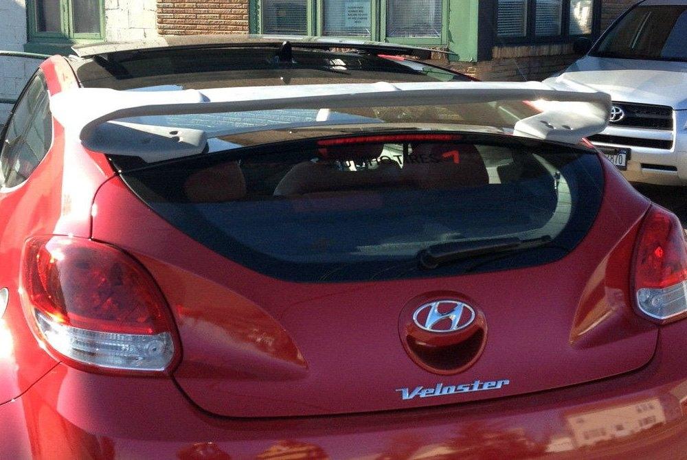 Jks 174 Hyundai Veloster 2015 Custom Style Rear Window Spoiler