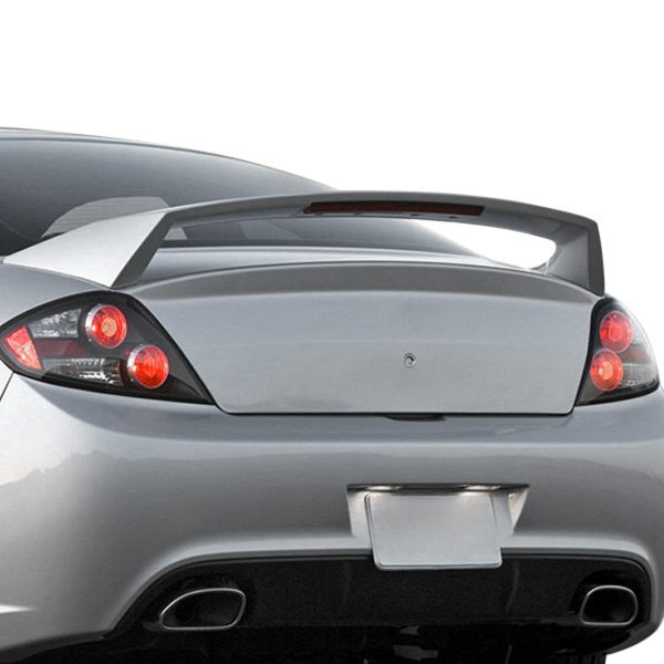 Hyundai Tiburon 2005 Factory Style Rear High Wing Spoiler With Light
