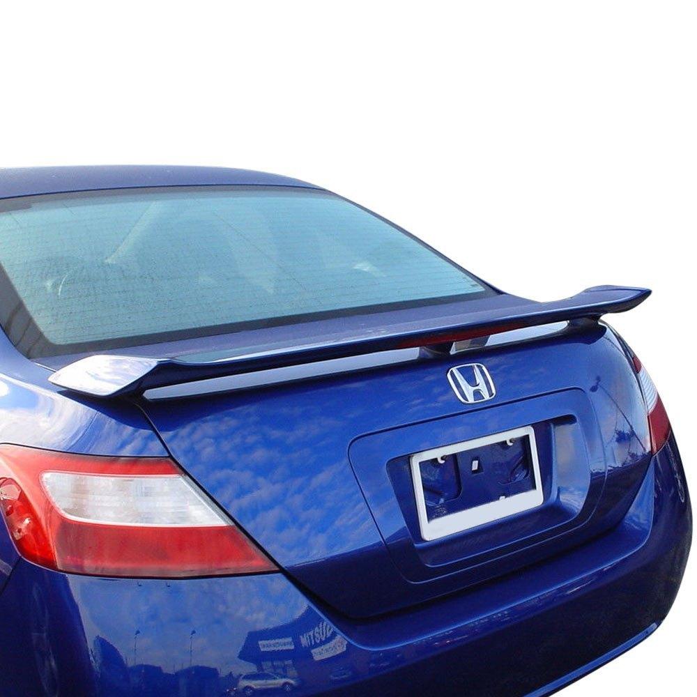 Honda Civic Coupe 2008 Custom Style Rear Spoiler
