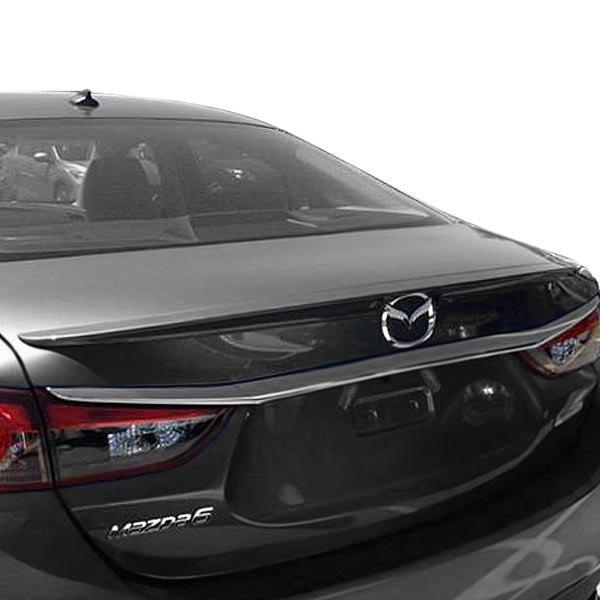 Mazda 6: Mazda 6 Sedan 2014 Factory Style Rear Lip Spoiler