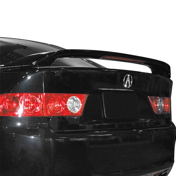 2008 Acura Tl Oem Style Lip Spoiler: Acura TSX 2004-2008 Factory Style Fiberglass Rear