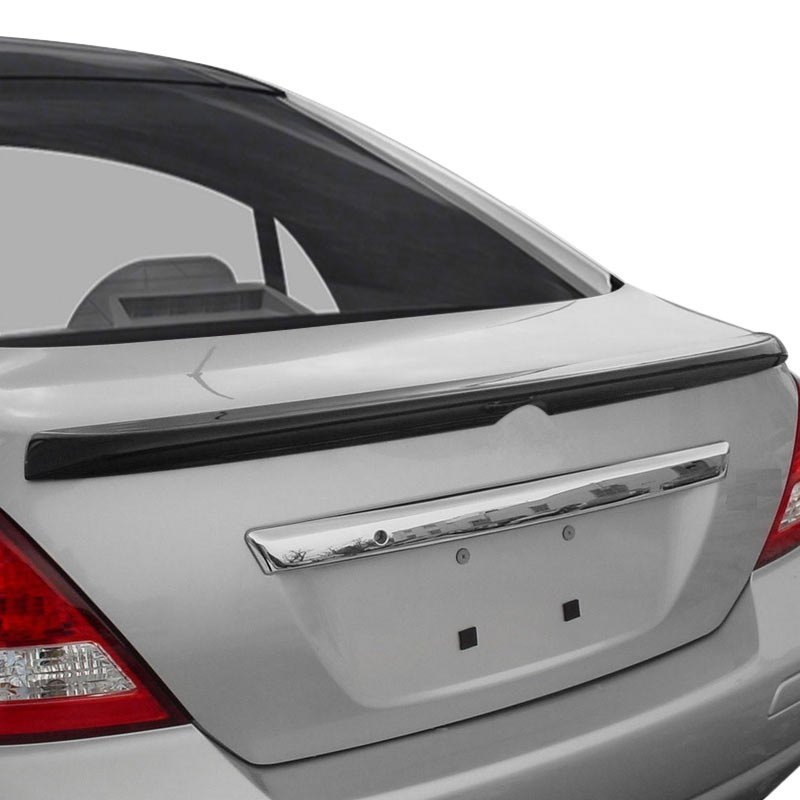 2010 Nissan Versa Suspension: Nissan Versa Sedan 2010 Factory Style Rear Lip Spoiler