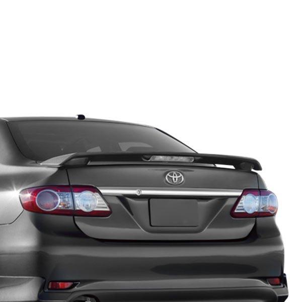 jks toyota corolla 2009 2013 factory style rear spoiler. Black Bedroom Furniture Sets. Home Design Ideas