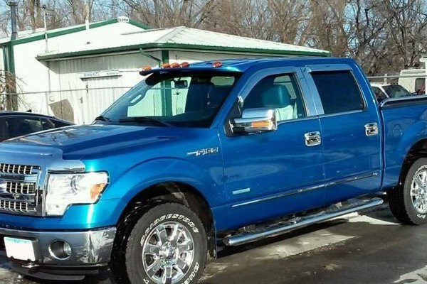Jks 174 Ford F 150 With Factory Cab Lights 2009 Sunroof