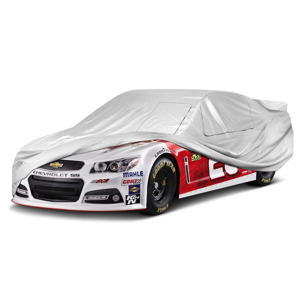 Silver Lightweight Car Cover