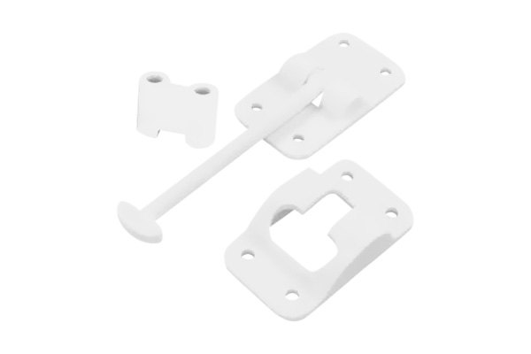 bedroom door locks jr products 174 10414b white plastic without bumper 3 1 2 10414
