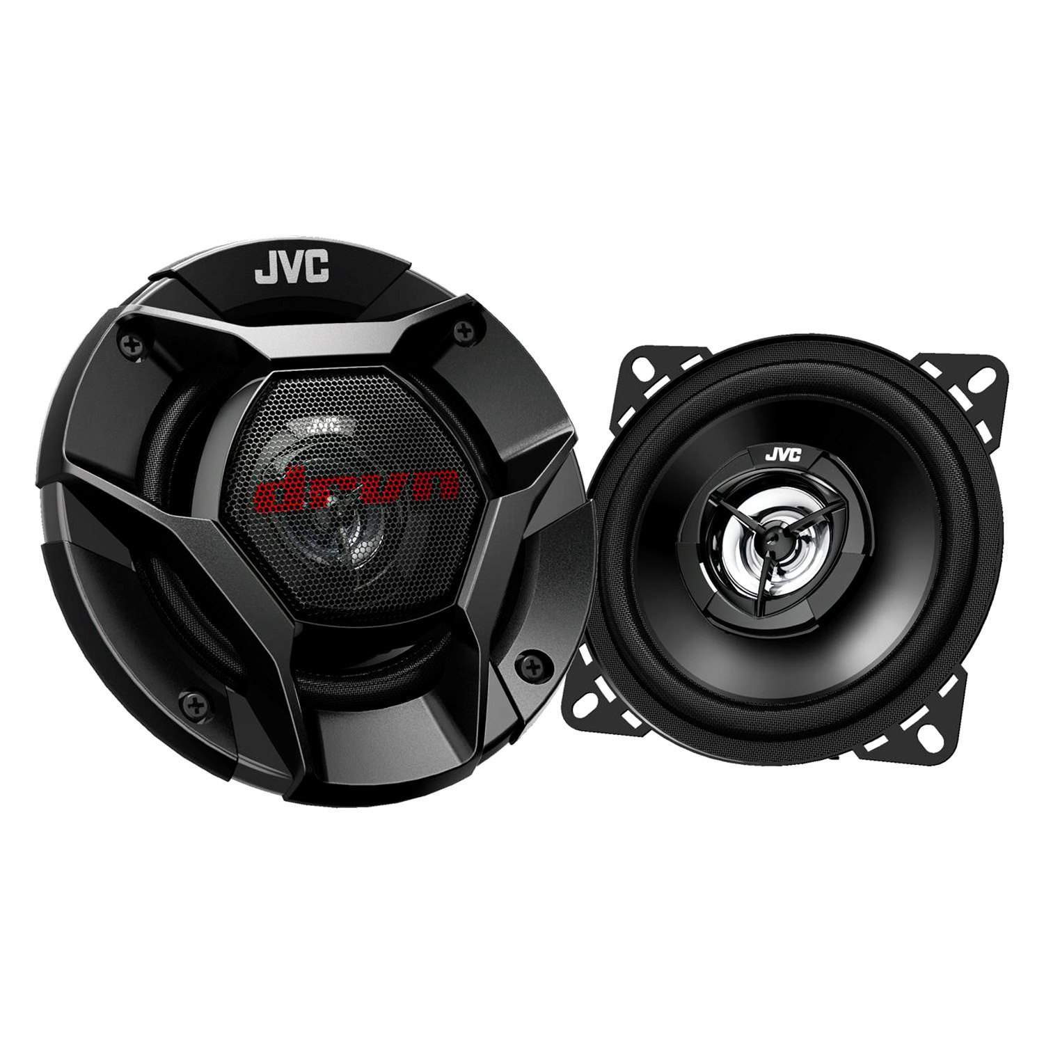 jvc csdr420 4 2 way drvn series 220w coaxial speakers. Black Bedroom Furniture Sets. Home Design Ideas