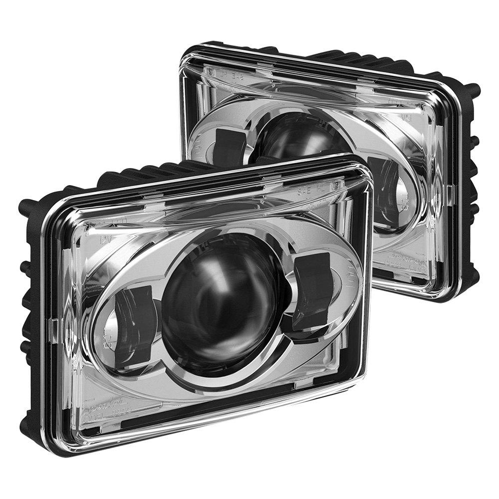 J W  Speaker® - Rectangular Projector LED Headlights