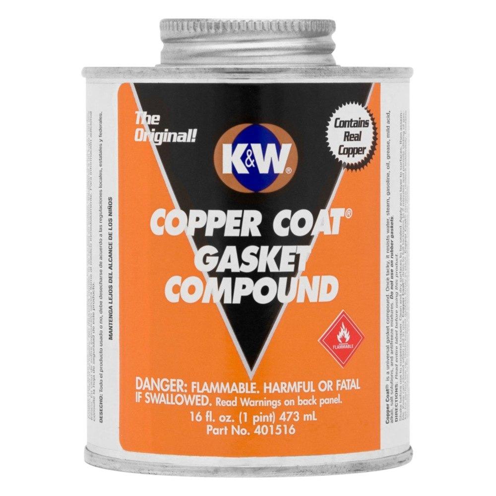 K&W® 401516 - Copper Coat™ Gasket Compound, 16 oz
