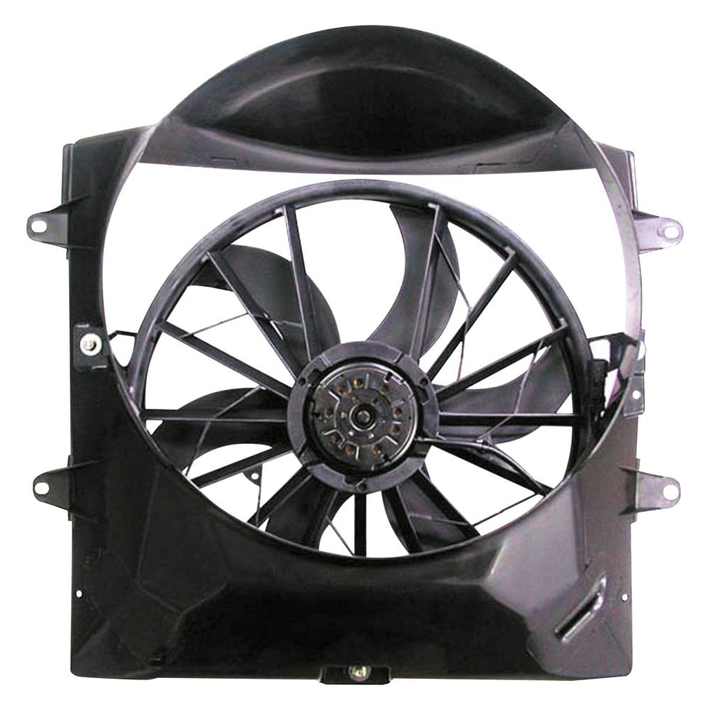Radiator Cooling Fan Assembly For Jeep Fits Liberty Grand Cherokee CH3116115