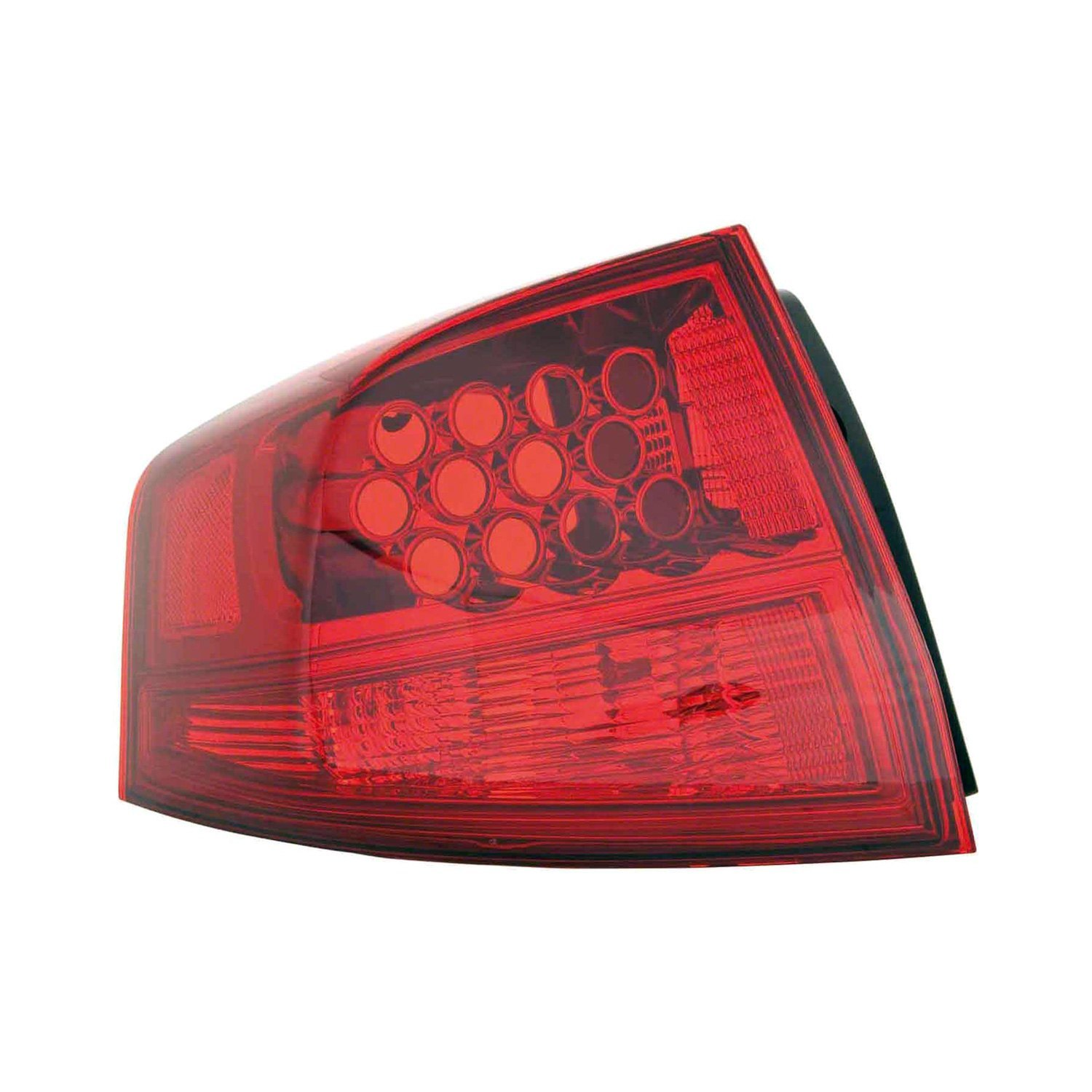 K Metal Driver Side Outer Replacement Tail Light Lens And Housing