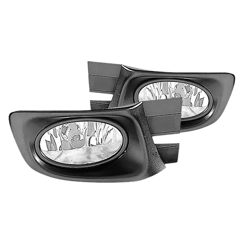 metal honda accord 2003 2004 replacement fog lights. Black Bedroom Furniture Sets. Home Design Ideas