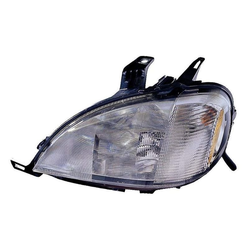 K metal mercedes ml320 ml430 with sport package with for Mercedes benz headlight replacement