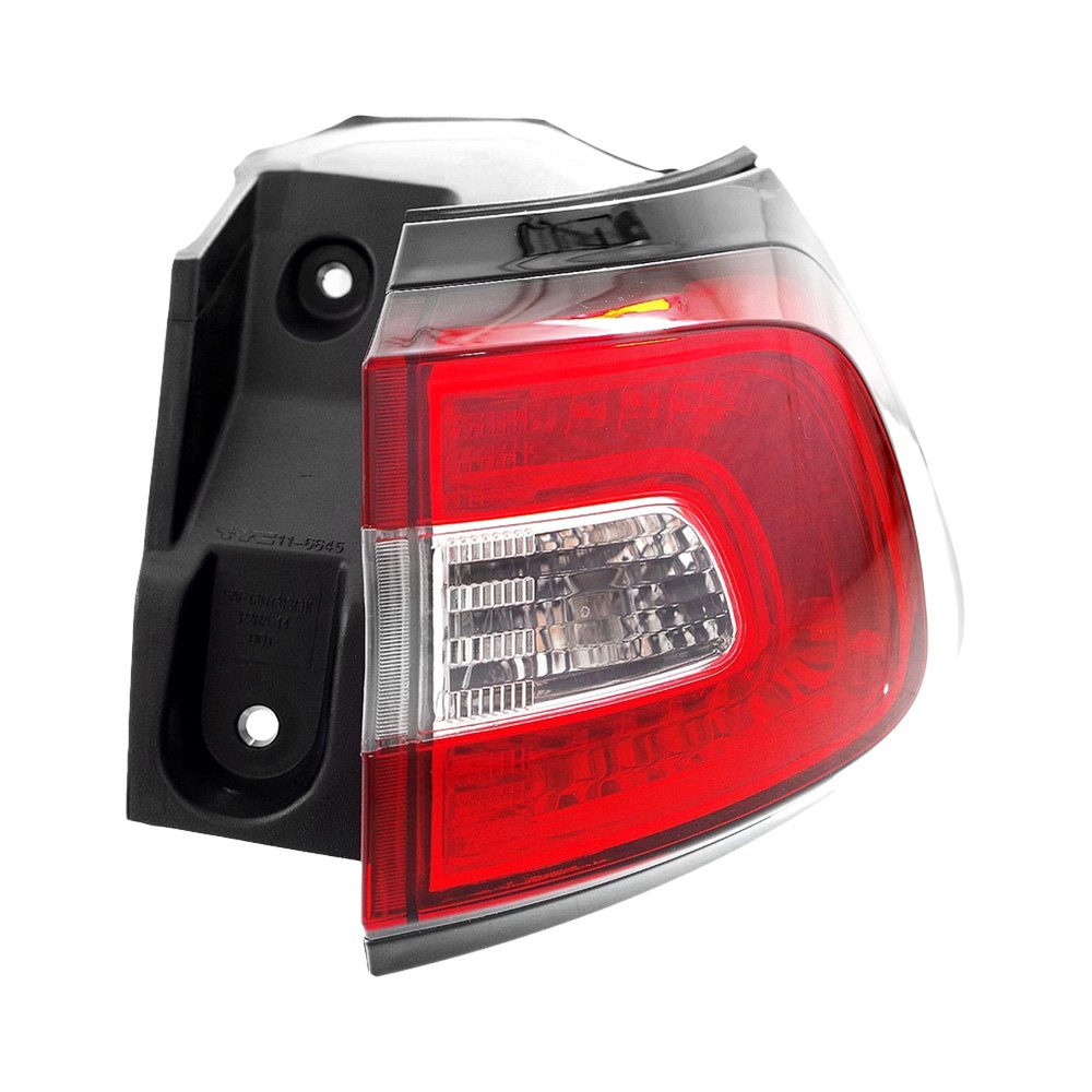 metal jeep cherokee 2014 2015 replacement tail light. Black Bedroom Furniture Sets. Home Design Ideas
