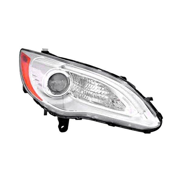 Chrysler 200 Price 2013: Chrysler 200 With Factory Halogen Headlights