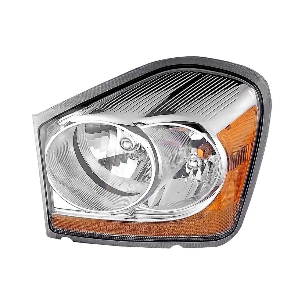K Metal Driver Side Replacement Headlight