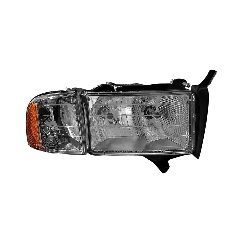 Dodge Replacement Headlights: Dodge Ram 1500 / 2500 / 3500 2001 Replacement