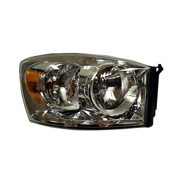 Dodge Replacement Headlights: Dodge Ram Mega Cab 2007 Replacement Headlight