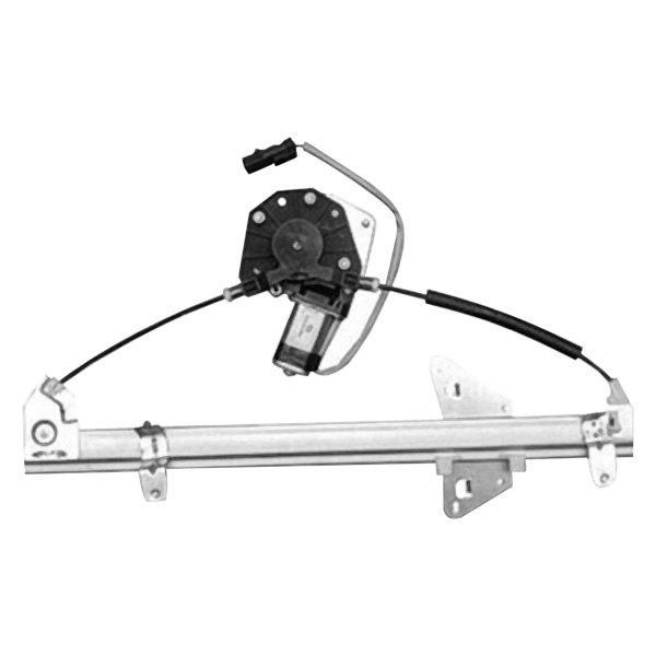 k metal dodge durango 2001 2002 rear door window regulator