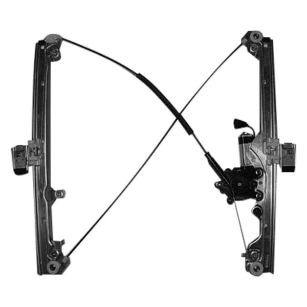 k metal chevy tahoe 2000 front power window regulator