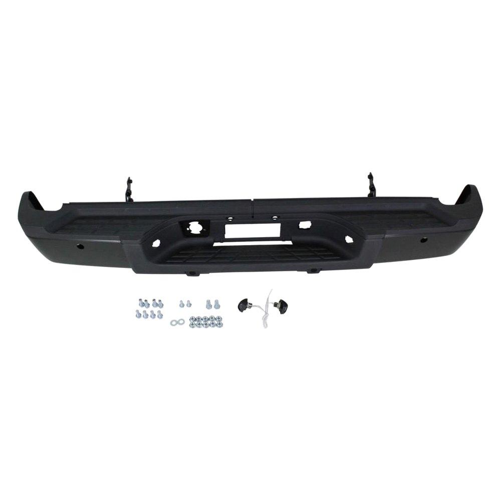 Rear Bumper Assy : K metal rear step bumper assembly