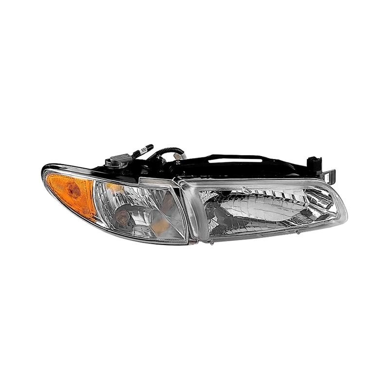 k metal pontiac grand prix 2002 replacement headlight. Black Bedroom Furniture Sets. Home Design Ideas