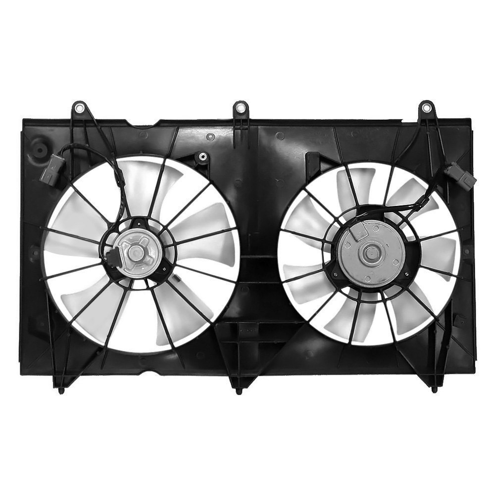 Replacement Motor Cooling Fans : K metal honda accord radiator fan assembly