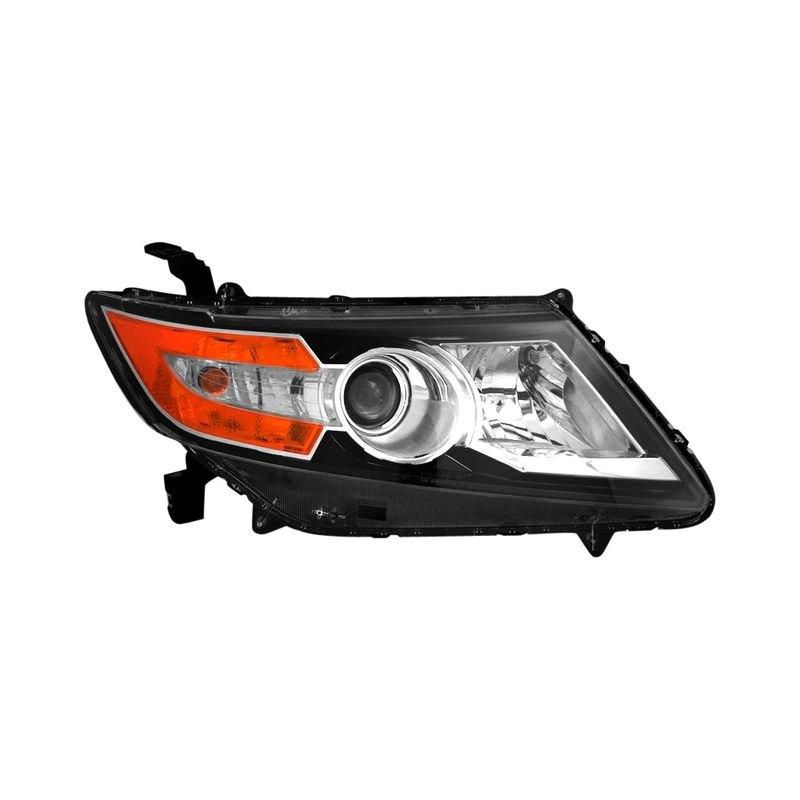 K Metal Honda Odyssey With Factory Halogen Headlights 2014 2016 Replacement Headlight