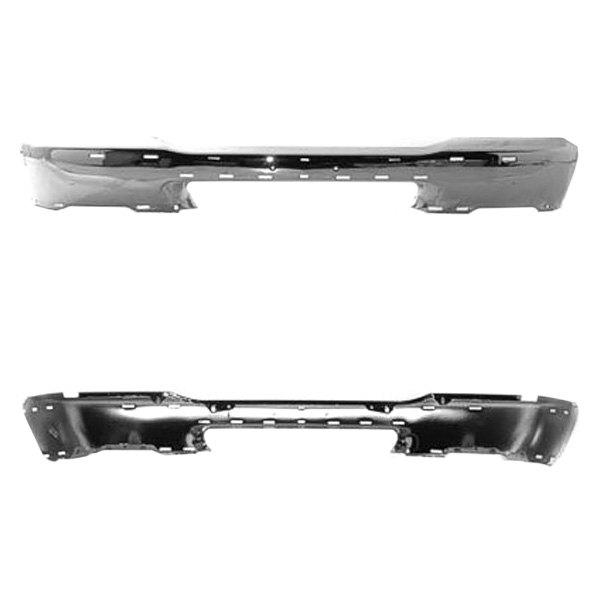 k metal mazda b2300 b2500 b3000 b4000 2002 front bumper face bar. Black Bedroom Furniture Sets. Home Design Ideas