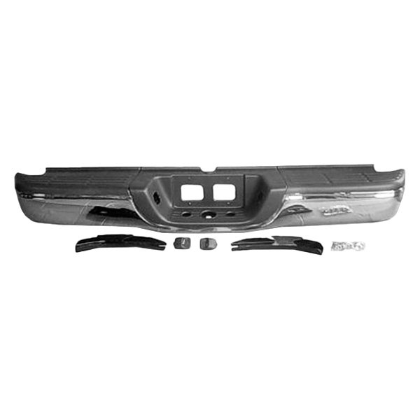 Rear Bumper Assy : K metal toyota tundra with standard bed without park