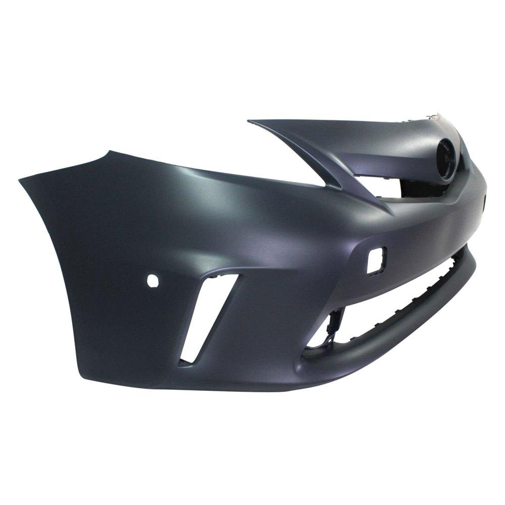 for toyota prius v 2012 2014 k metal 7120427 front bumper cover ebay. Black Bedroom Furniture Sets. Home Design Ideas