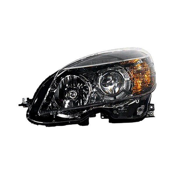 K metal mercedes c class with factory halogen for Mercedes benz headlight replacement