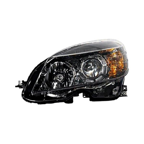 K metal mercedes c class with factory halogen for Mercedes benz headlight replacement