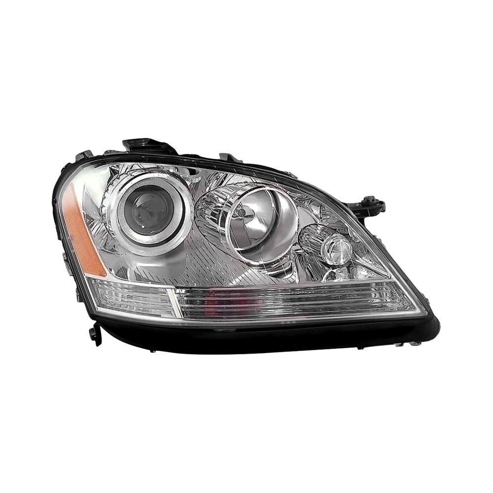 K metal mercedes ml350 ml500 with factory halogen for Mercedes benz ml350 headlight bulb