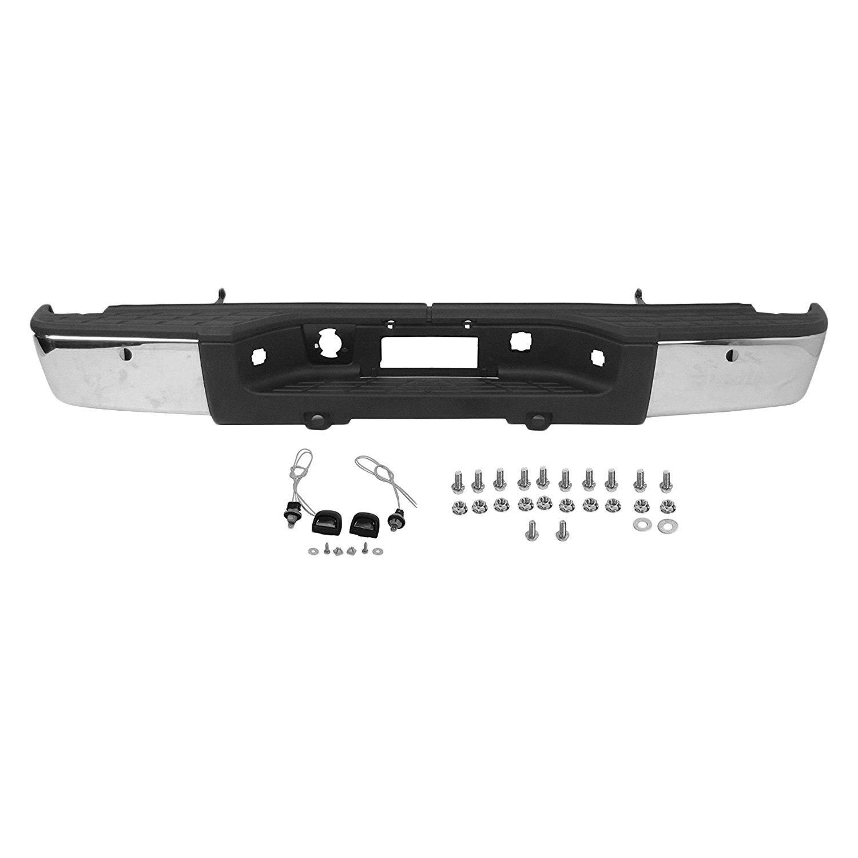 Rear Bumper Assy : K metal rf rear step bumper assembly