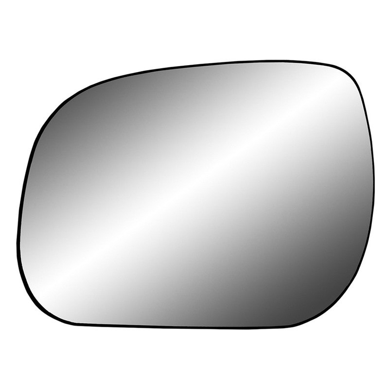 K source 33225 driver side mirror glass with backing for Mirror source