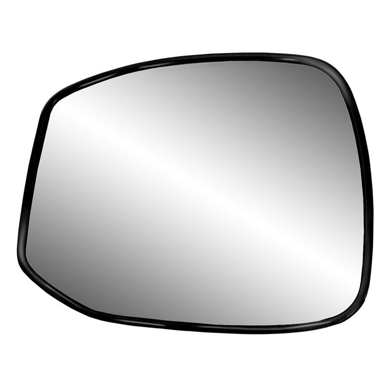 K Source®   Driver Side Mirror Glass With Backing Plate